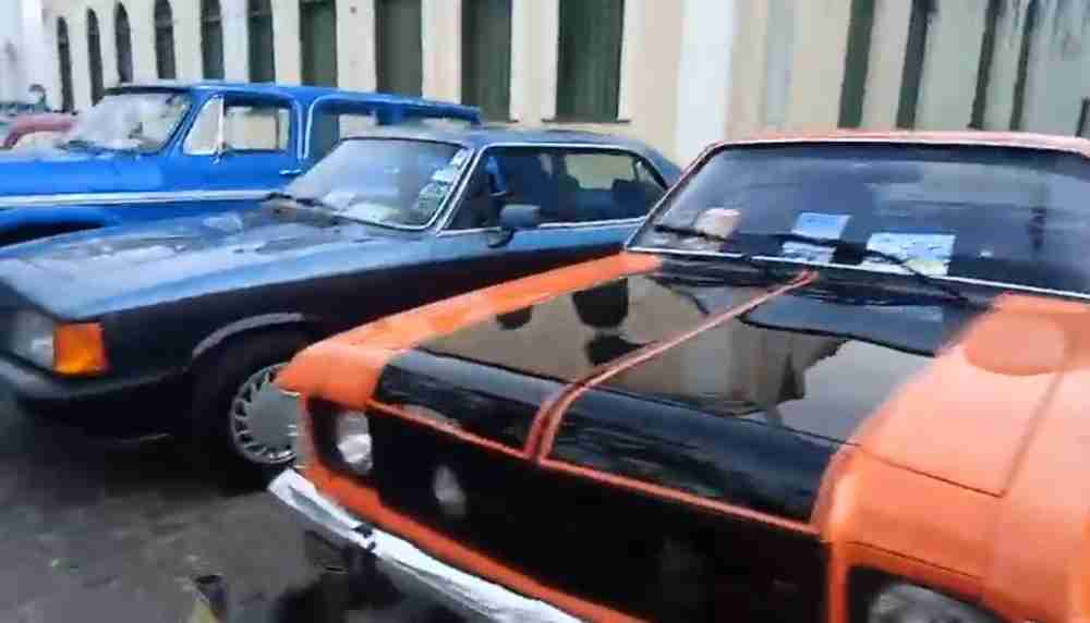 Encontro de Carros Antigos em São Felix Ba 2019